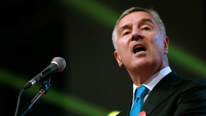 Президент Черногории предложил запретить въезд без теста на COVID