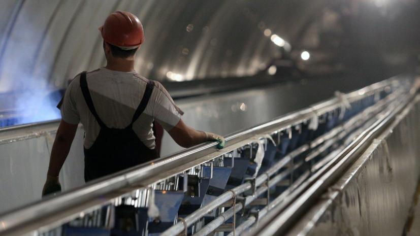 В Москве на станции БКЛ метро «Сокольники» начался монтаж эскалаторов