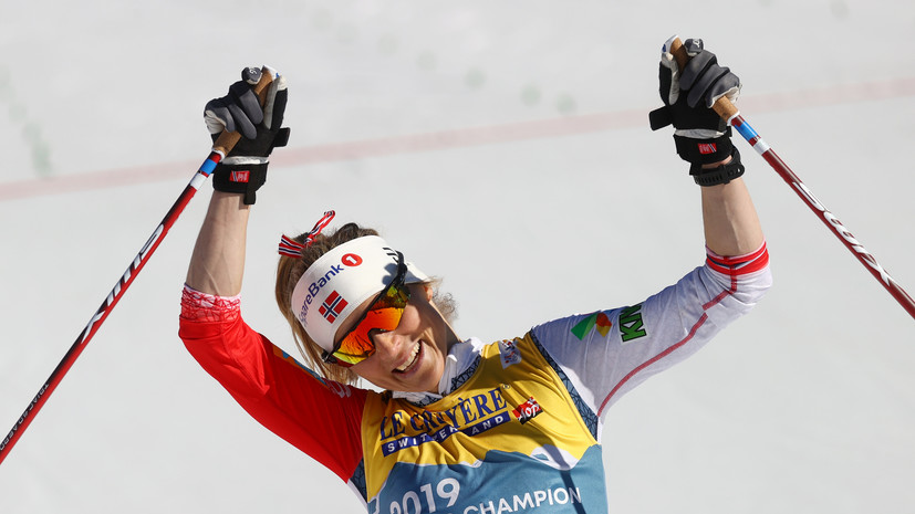 Россия осталась без медалей в женской индивидуальной гонке на ЧМ, победила Йохауг