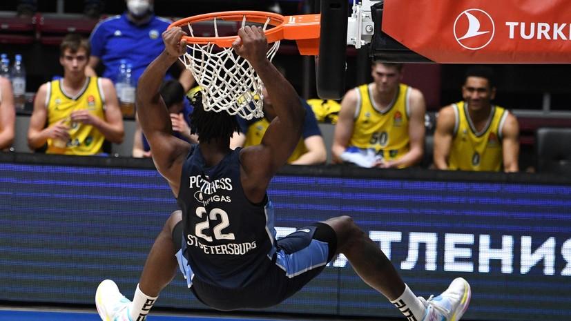 «Зенит» одолел «Альбу» в баскетбольной Евролиге