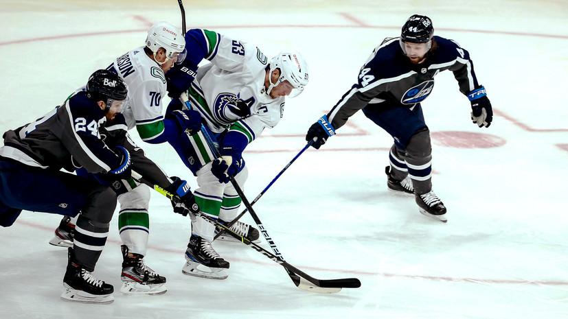 «Виннипег» разгромил «Ванкувер» в матче НХЛ