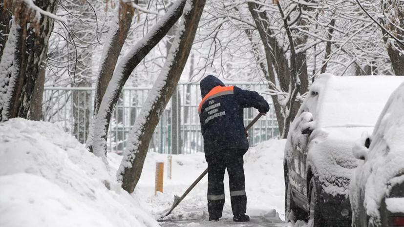 Февраль в Москве в 2021 году стал самым снежным за семь лет