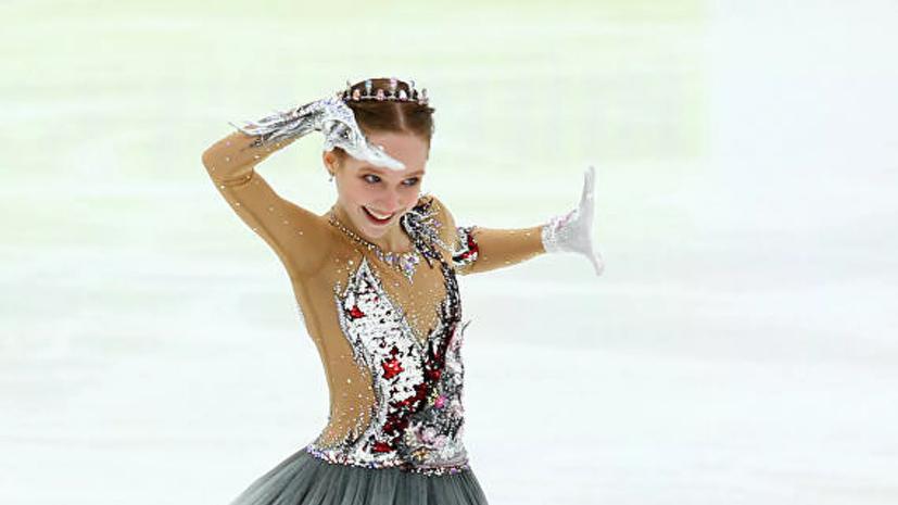 13-летняя российская фигуристка Берестовская перешла в группу Тутберидзе