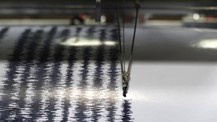 Землетрясение магнитудой 6,2 произошло в Греции