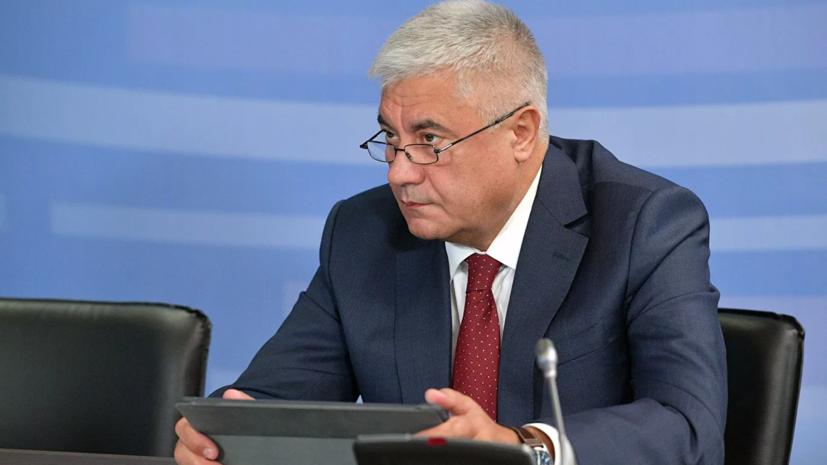 Колокольцев назвал число переболевших коронавирусом сотрудников МВД