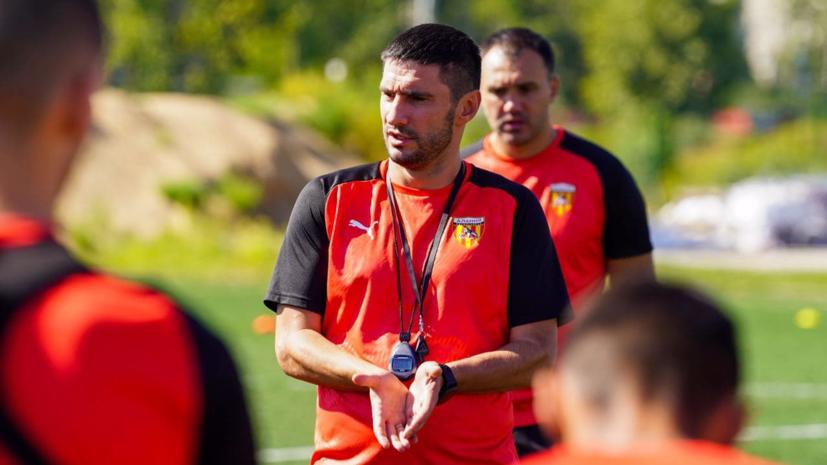 Тренер «Алании» Гогниев дисквалифицирован на восемь матчей за толчок арбитра