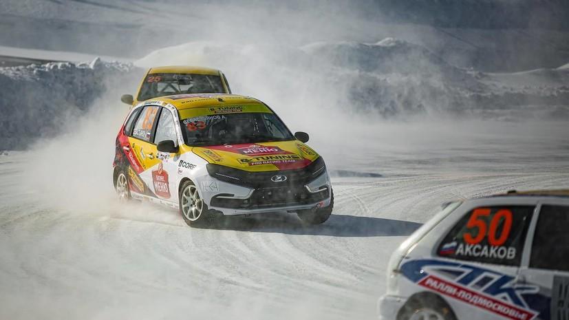 Команда B-Tuning стала третьей в общем зачёте сезона КР по ледовым гонкам