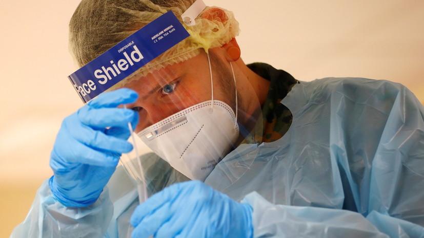 В Германии за сутки выявили более 11 тысяч случаев коронавируса