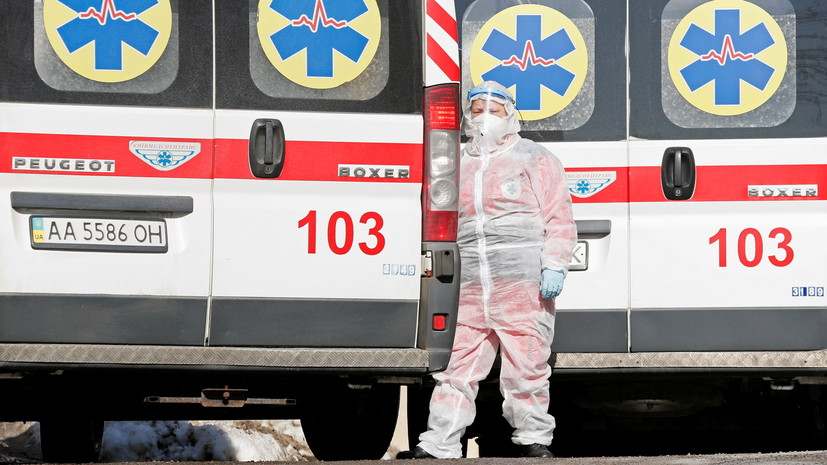 На Украине выявили более 10 тысяч случаев коронавируса за сутки