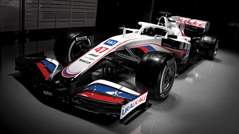Команда «Формулы-1» представила болид в цветах российского флага