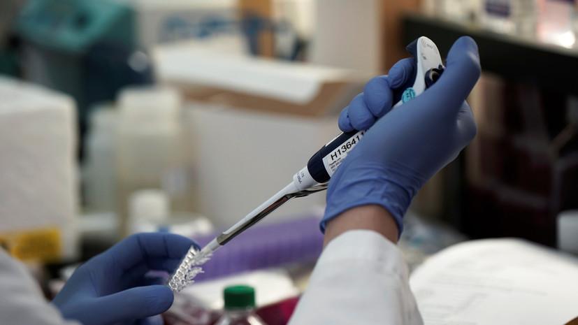 На Украине впервые выявлен британский штамм коронавируса