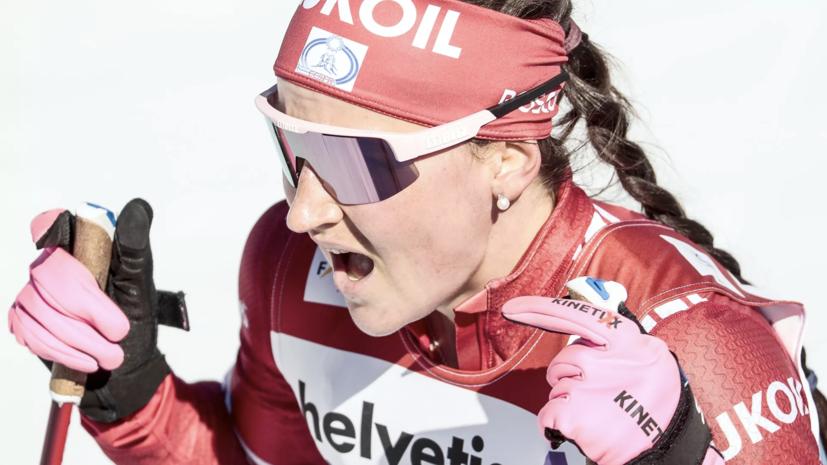 Сборная России выиграла серебро в женской эстафете на ЧМ по лыжным видам спорта
