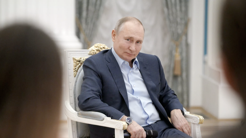 Путин пошутил про «дворец» под Петербургом