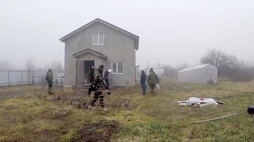 В ФСБ рассказали о задержанном за подготовку теракта под Калининградом