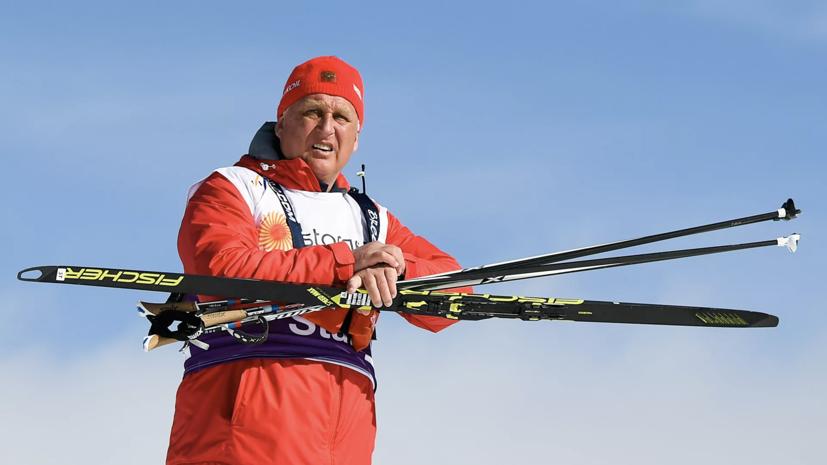 Тренер объяснил выбор состава сборной России на мужскую эстафету на ЧМ по лыжным гонкам