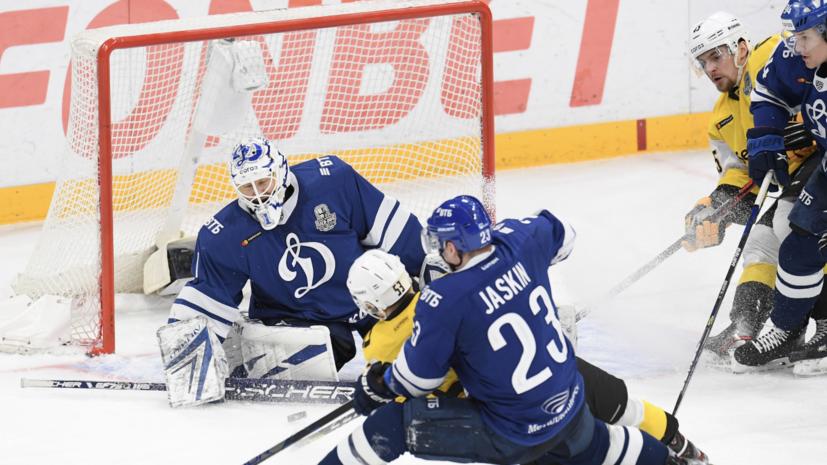 Московское «Динамо» проиграло «Северстали» во втором матче серии плей-офф КХЛ