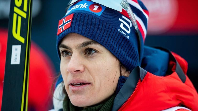 Норвежская лыжница Венг отреагировала на критику менеджера сборной Швеции