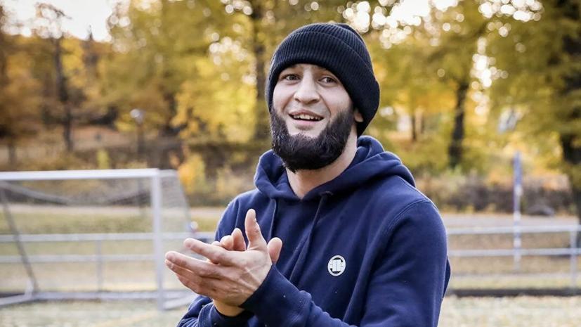 Брат Чимаева: Хамзат стал кашлять кровью, испугался и впал в депрессию