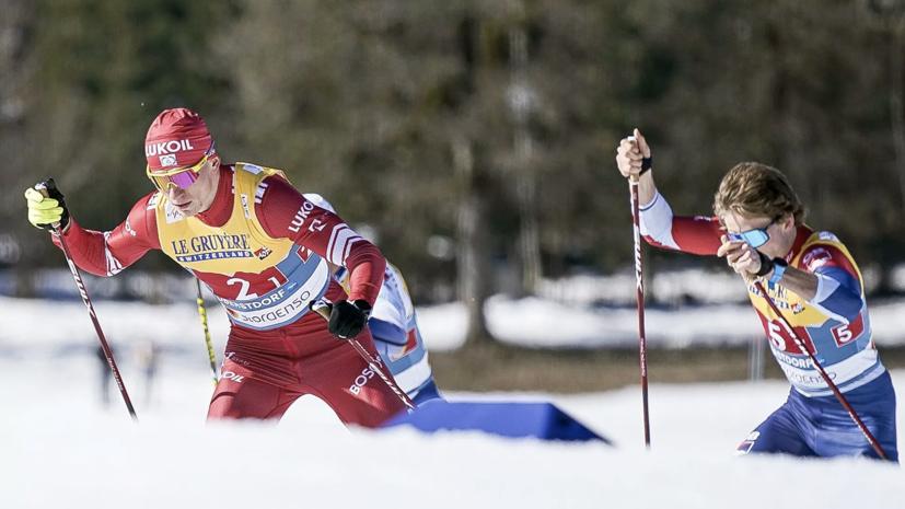 Российские лыжники завоевали серебро в эстафетной гонке 4 х 10 км на ЧМ в Оберстдорфе