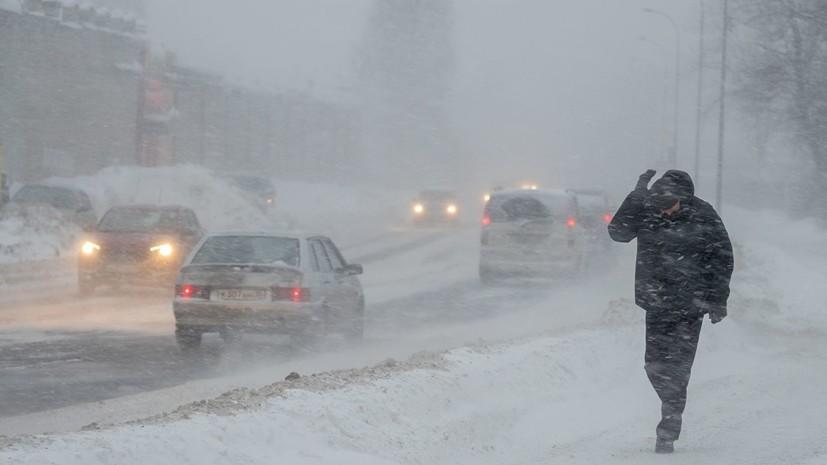 В Омской области предупредили об опасных условиях на дорогах