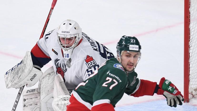 «Ак Барс» победил «Торпедо» во втором матче серии плей-офф КХЛ