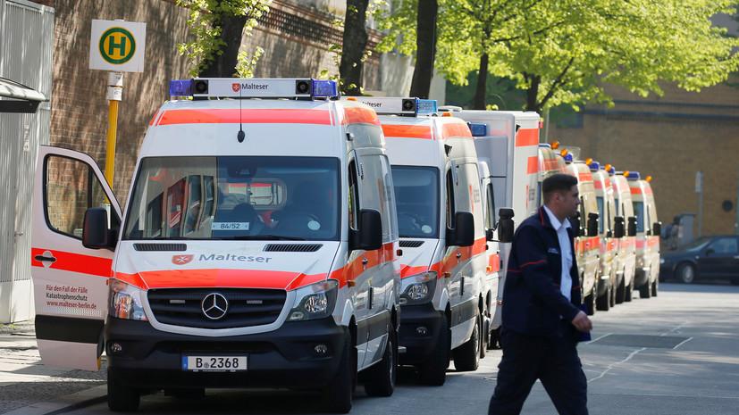 В Германии за сутки выявили более 9 тысяч случаев коронавируса
