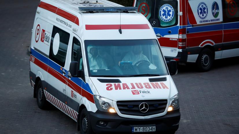 Шестеро украинцев погибли в результате ДТП в Польше