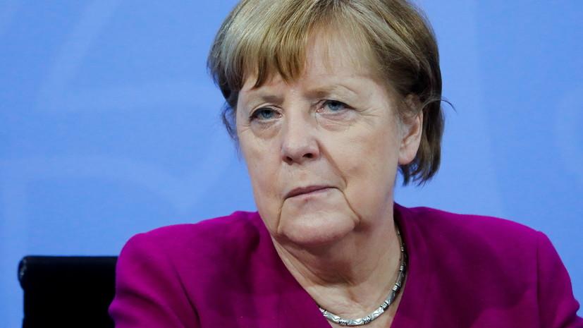 Меркель заявила об усилении гендерного неравенства во время пандемии
