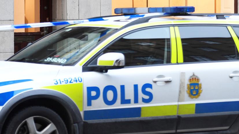 В Стокгольме полиция разогнала митинг против карантинных ограничений