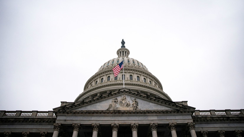 Сенат США одобрил законопроект о стимулировании экономики на $1,9 трлн