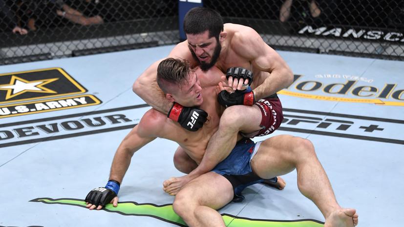Эмеев оценил победу Махачева над Добером на UFC 259