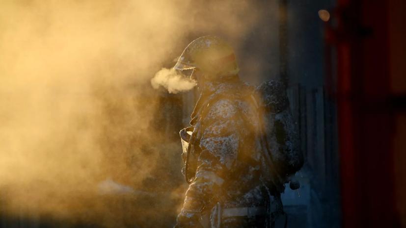 Пожар наместе разлива углеводородов нареке Оби ликвидирован