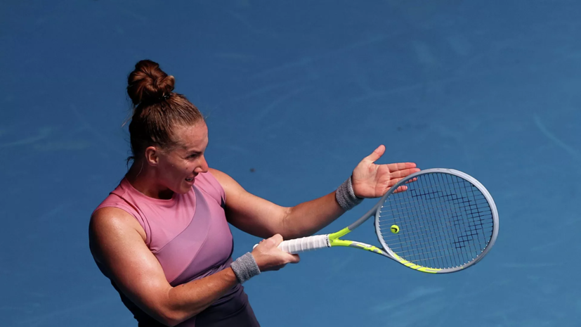 Кузнецова победила Ван Цян и вышла второй круг турнира WTA в Дубае