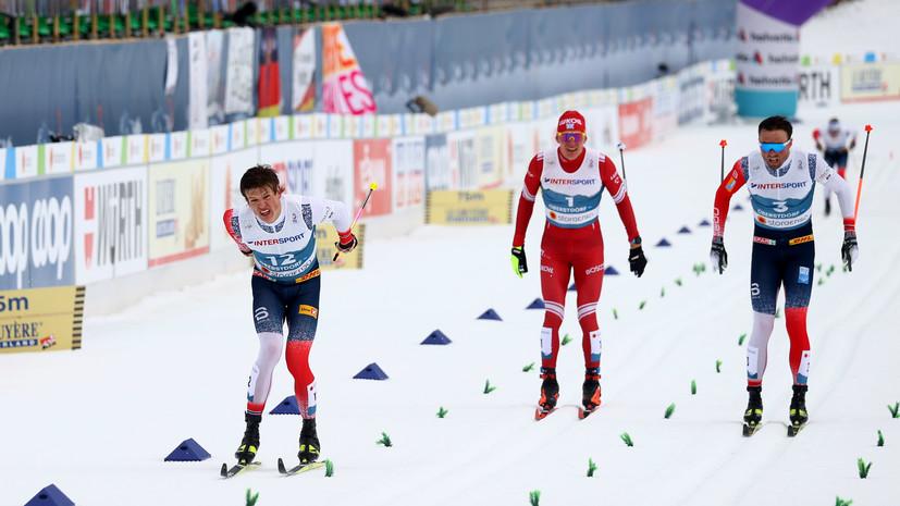Тренер оценил действия Большунова на финише марафона до контакта с Клебо