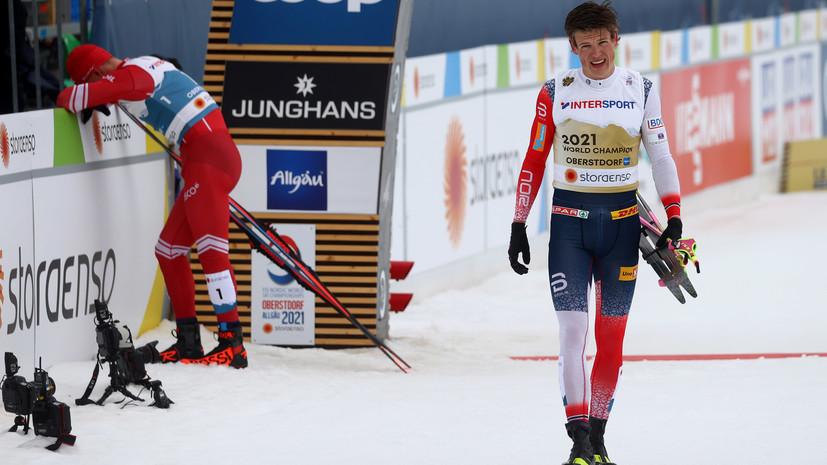 Сборная Норвегии подала апелляцию на дисквалификацию Клебо с марафона на ЧМ