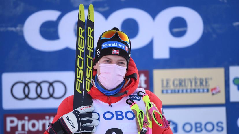 Сборная Норвегии подаст апелляцию в FIS на решение о дисквалификации Клебо