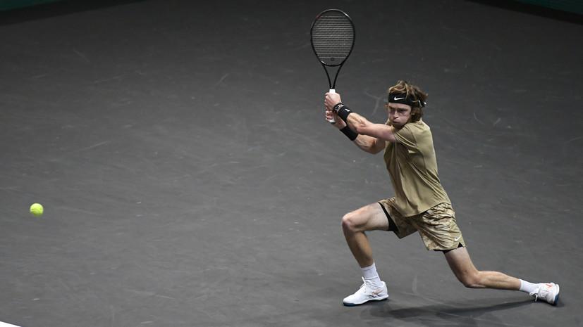 Рублёв победил Фучовича и выиграл турнир ATP в Роттердаме