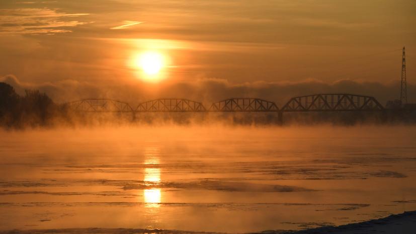 В реке Обь не выявили нарушений после ЧП на месте разлива углеводородов