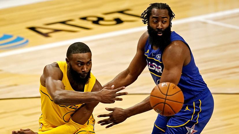 Команда Джеймса победила команду Дюранта в Матче всех звёзд НБА