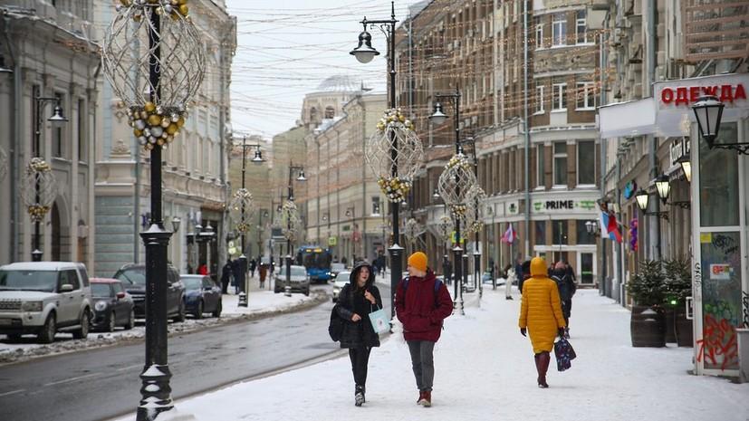 В Москве 8 марта ожидается кратковременный снег