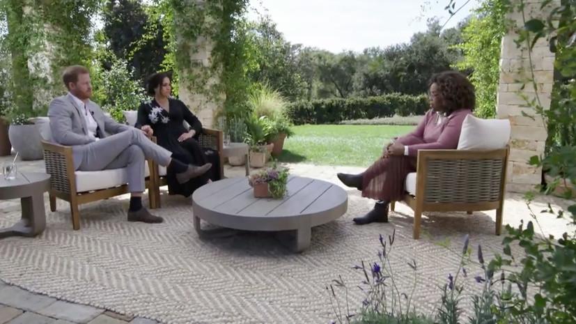 «Фирма» играет активную роль в распространении лжи о нас»: о чём Меган Маркл рассказала в интервью Опре Уинфри
