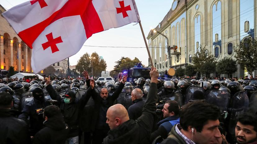 Оппозиция Грузии пообещала митинг в случае отказа от досрочных выборов