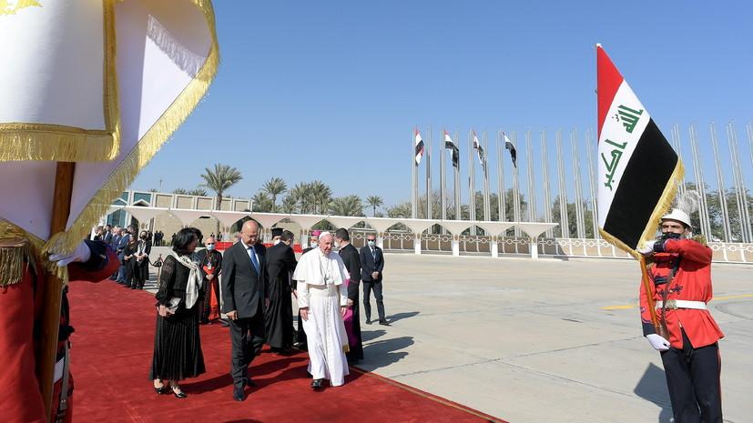 В Иране назвали важным и позитивным визит Папы Римского в Ирак