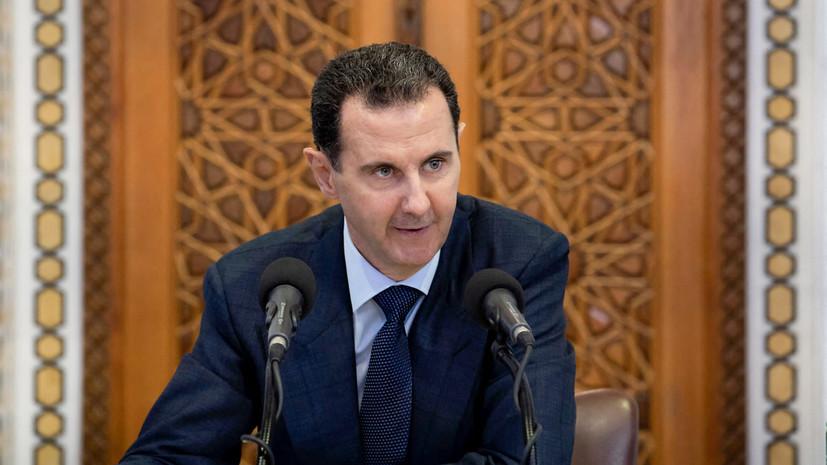 «Находятся в хорошем, стабильном состоянии»: Башар Асад и его супруга заболели коронавирусом
