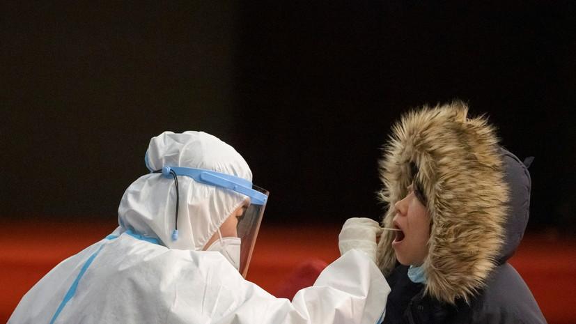 Китайские врачи за сутки выявили восемь случаев COVID-19