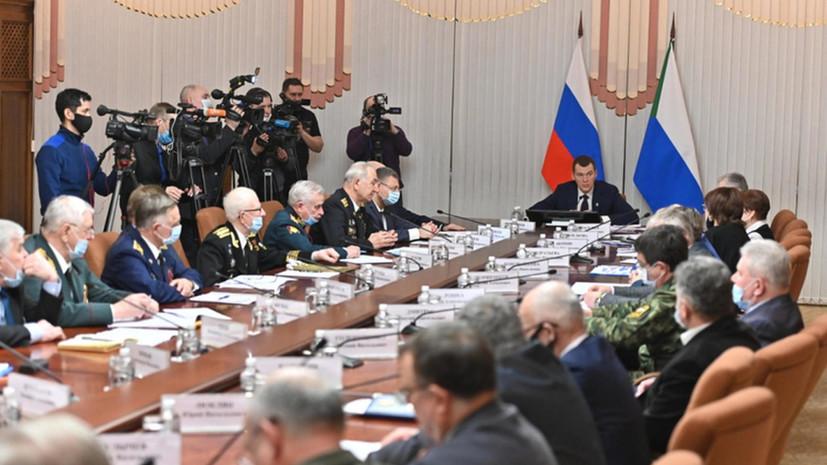 Совет ветеранских организаций создан в Хабаровском крае
