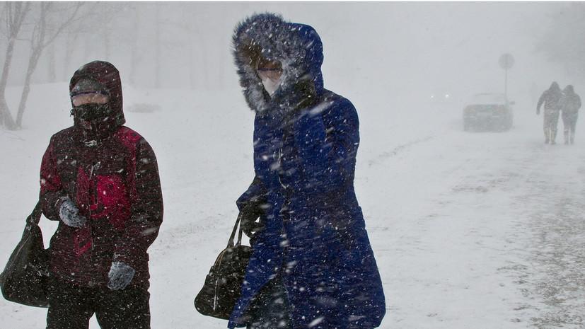 Синоптики прогнозируют в Омской области похолодание до –26 °С и метель