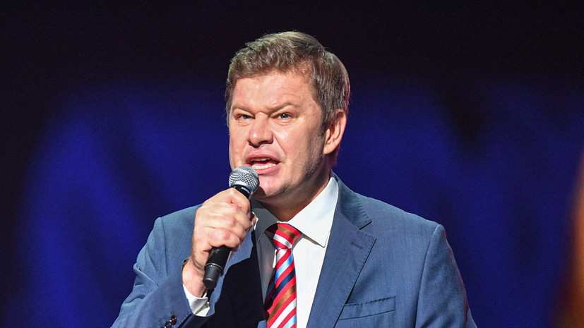 Губерниев заявил, что через пару лет будет готов выступить на Евровидении со своей группой