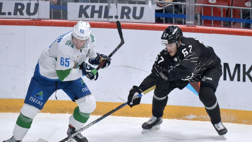 «Салават Юлаев» одержал третью победу над «Трактором» в серии плей-офф КХЛ