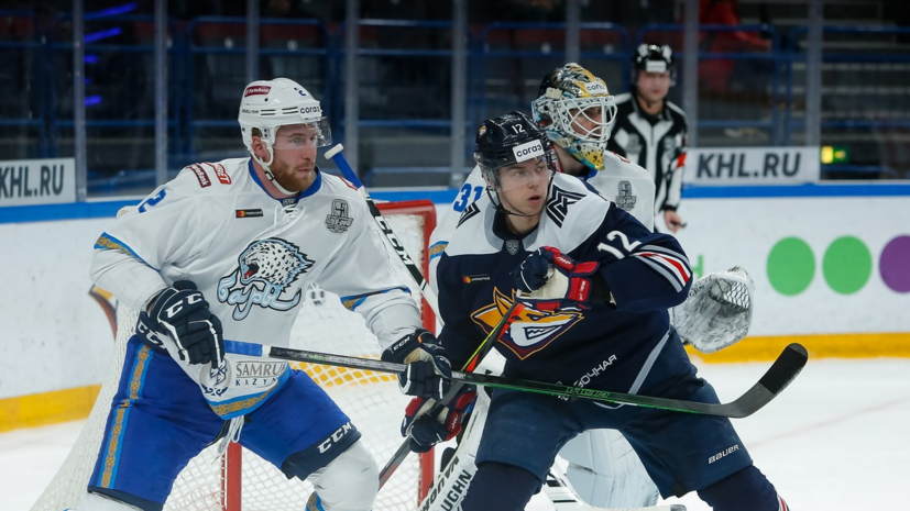 «Металлург» разгромил «Барыс» в серии плей-офф Кубка Гагарина